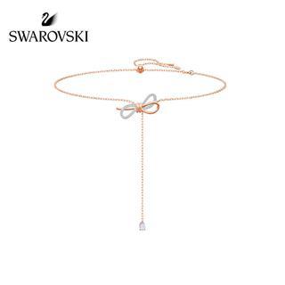 SWAROVSKI/施华洛世奇 LIFELONG BOW蝴蝶结Y型浪漫项链 5447082