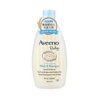 【中文标】美国艾维诺婴儿每日倍护洗发沐浴二合一236ml