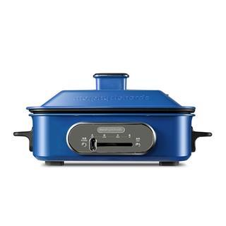 英国摩飞MR9088多功能料理锅网红电烤锅烤炉一体炒蒸煮煎火锅 轻奢蓝